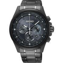 SEIKO精工 Criteria 台灣限定太陽能計時碼錶-灰42mm V175-0ER0K(SSC693P1)