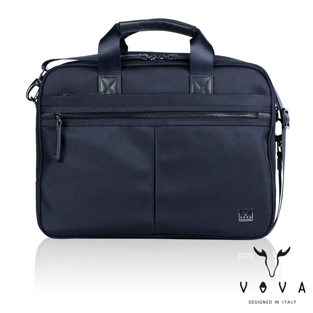 【VOVA】天際系列職人公事包(天際藍)VA117S03BL