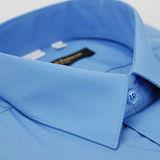 【金安德森】藍色基本款長袖襯衫