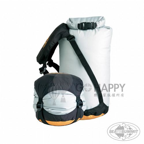 SEATOSUMMIT 底部壓縮透氣防水收納袋 (L)(灰色)