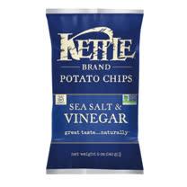 KETTLE® K董-薄切洋芋片-海鹽油醋 142G