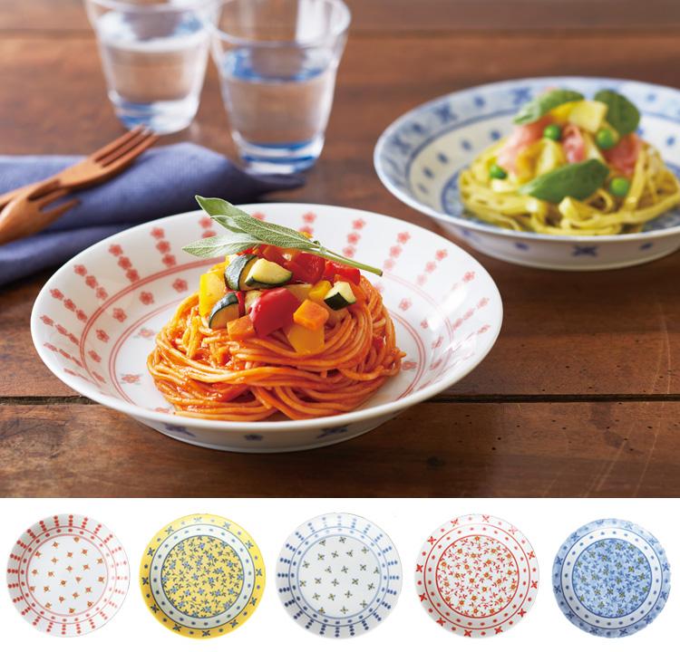 【日本橘吉 】蔓藤盛皿(5入)--日本原裝進口