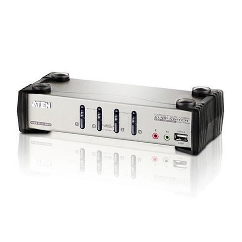 ATEN CS1734B 4埠PS/2-USB VGA/音訊 KVMP多電腦切換器(具備OSD功能)