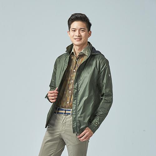 【CREMIEUX】時尚風衣外套 (軍綠)