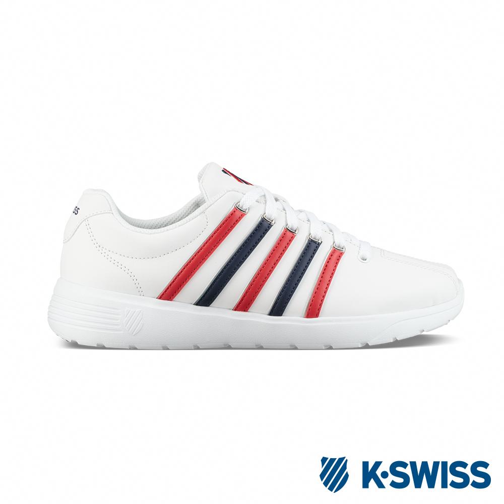 K-Swiss Pro Active L CMF休閒運動鞋-女-白/藍/紅