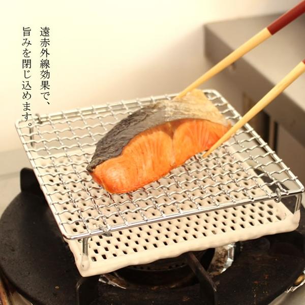 日本丸十金網 金屬陶瓷雙層燒烤網