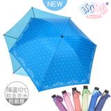 【日本雨之戀】 鈦金奈米降溫10℃ 反向傘 -古典玫瑰-寶藍內水藍 -晴雨傘/抗UV/防脫膠/抗強風