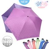 【日本雨之戀】 鈦金奈米降溫10℃ 反向傘 -古典玫瑰-桃紫內深紫 -晴雨傘/抗UV/防脫膠/抗強風