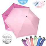 【日本雨之戀】 鈦金奈米降溫10℃ 反向傘 -古典玫瑰-甜粉內粉桃 -晴雨傘/抗UV/防脫膠/抗強風