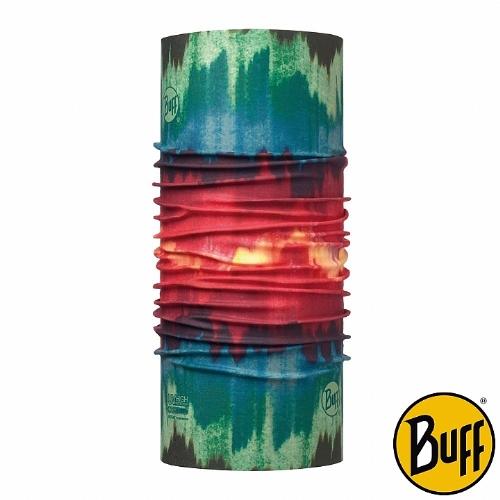 BUFF 紅綠暈染 COOLMAX抗UV頭巾