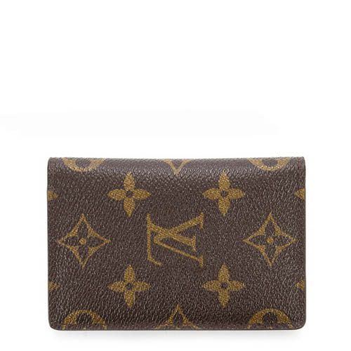 Louis Vuitton LV M60502 經典花紋信用卡簡便短夾_現貨