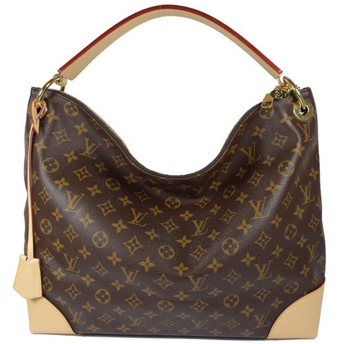 Louis Vuitton LV M41625 Berri MM 經典花紋附鎖組單柄肩背包_預購