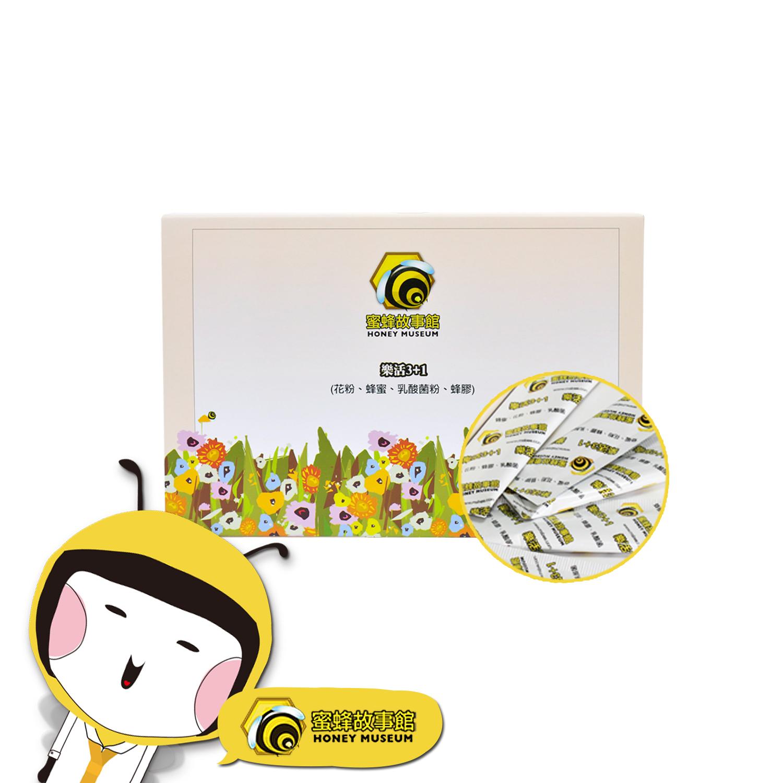【蜜蜂故事館】樂活3+1(4g×50包)