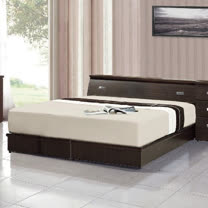 藏愛臥室二件組合-單人3.5尺(床頭箱+床底)