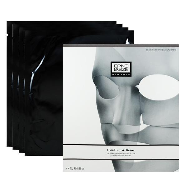 ERNO LASZLO 奧倫納素 超肌淨 竹炭果凍面膜 4x25g Exfoliate & Detox Detoxifying Hydrogel Mask