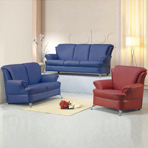 AS-紀伯倫皮沙發組-1+2+3人坐