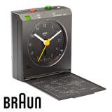 BRAUN德國百靈 感應式旅行鬧鐘 質感灰(BNC005GYGY)(盒損出清)