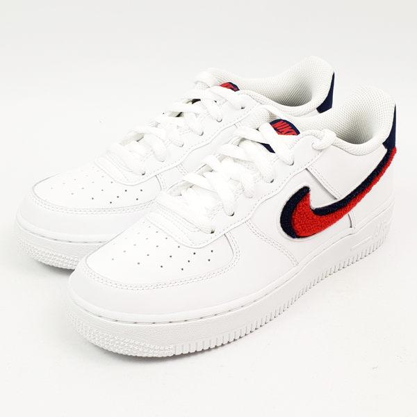 Nike 女 AIR FORCE 1 LV8 (GS) 經典復古鞋 - AO3620101
