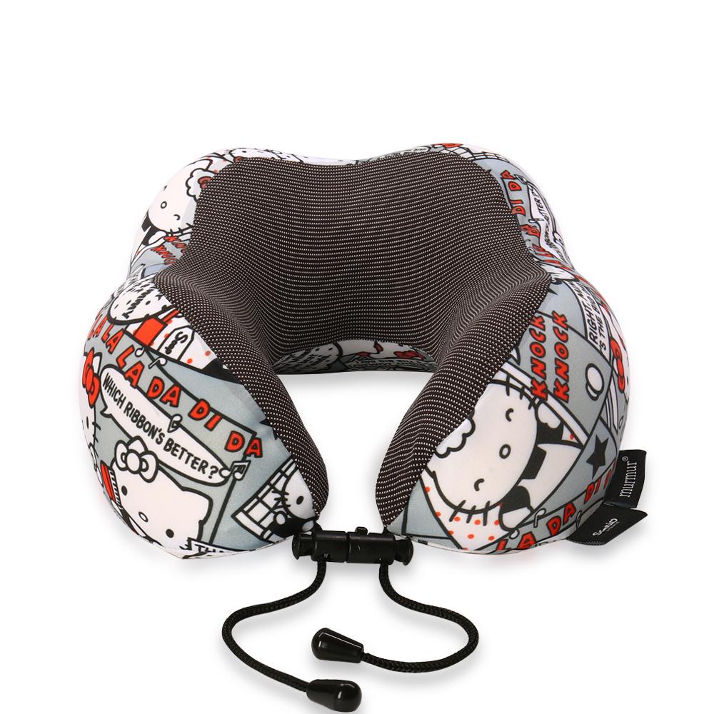 murmur 旅行收納頸枕/U型護頸枕 - Hello Kitty 漫畫
