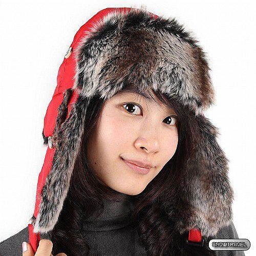[SNOW TRAVEL] 極地保暖遮耳帽 (紅色)
