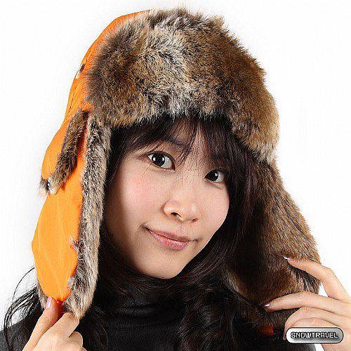 [SNOW TRAVEL] 極地保暖遮耳帽 (橘色)