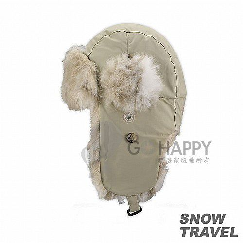 [SNOW TRAVEL] 極地保暖遮耳帽(卡其)