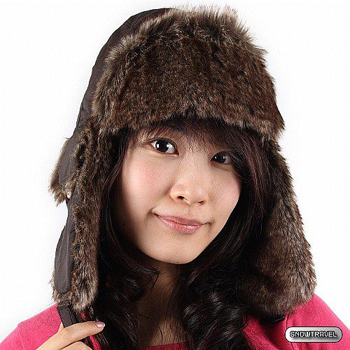 [SNOW TRAVEL] 極地保暖遮耳帽 (咖啡)