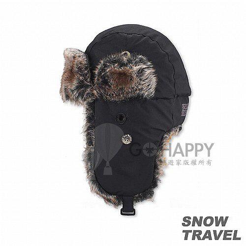 [SNOW TRAVEL] 極地保暖遮耳帽(黑色)