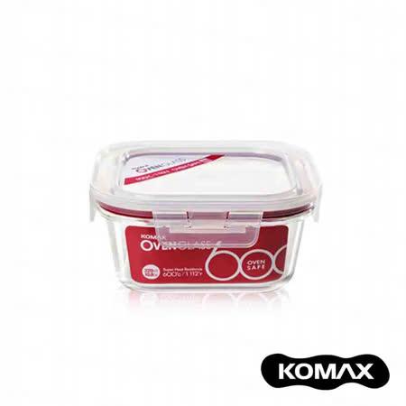 韓國KOMAX 耐熱玻璃保鮮盒320ml