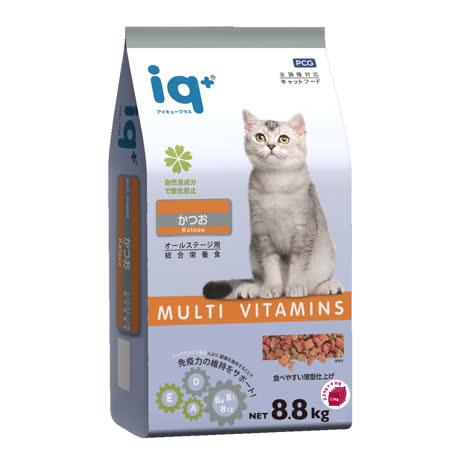 iq+ 全貓糧8.8kg