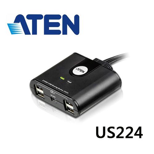 ATEN US224 2x4 USB 2.0 週邊分享切換器
