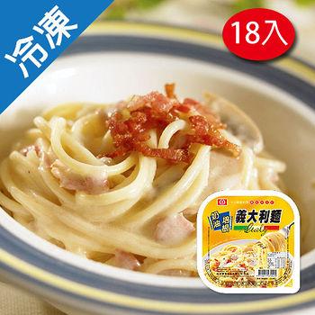 桂冠義大利麵-奶油培根335G*18盒