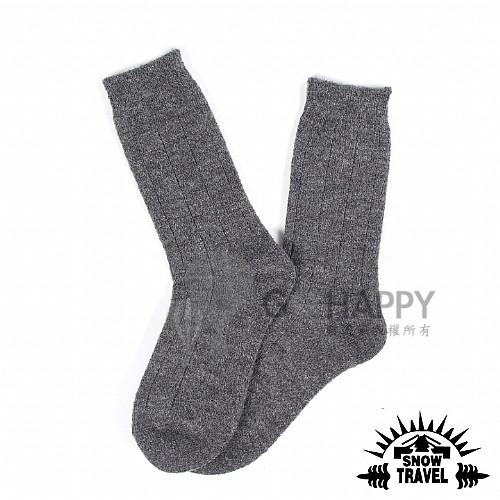 [SNOW TRAVEL] 高品質保暖羊毛襪 (深灰) 5入