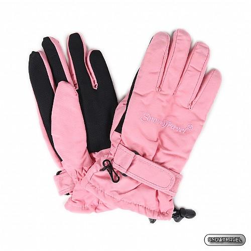 [SNOW TRAVEL] PORELLE防水透氣素面薄手套 (粉紅)