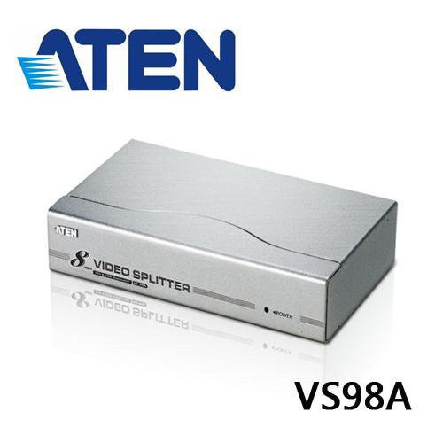 ATEN VS98A 8埠VGA視訊分配器 (頻寬300MHz)