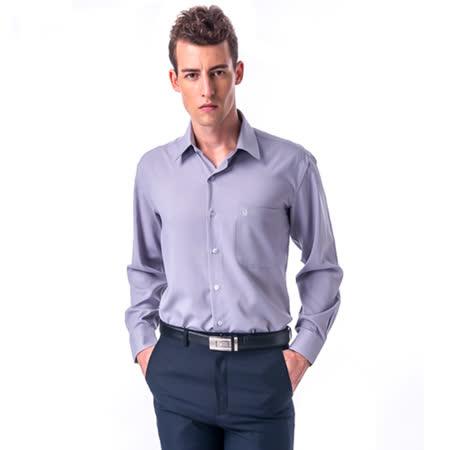 金安德森 灰色吸排長袖襯衫