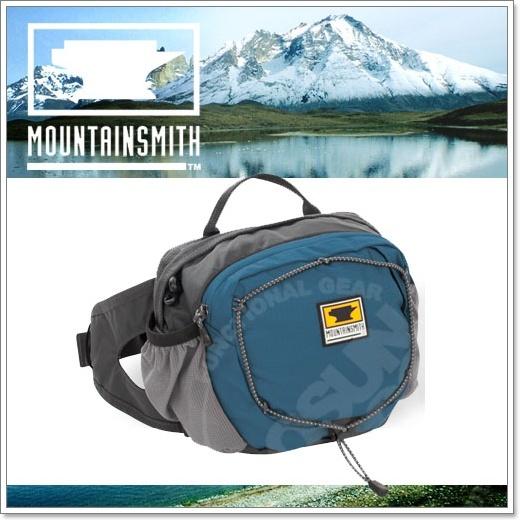 【美國 MountainSmith】新款 KINETIC TLS 3.7L 輕量化多功能腰包.運動臀包.肩背.斜背.側背.可當手拿包.MP3音源孔/深藍