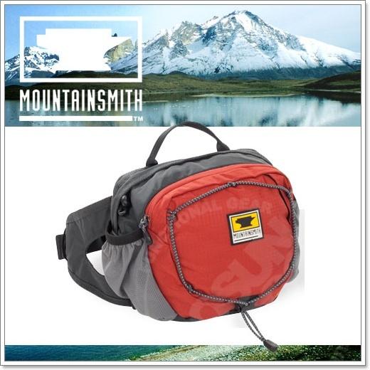 【美國 MountainSmith】新款 KINETIC TLS 3.7L 輕量化多功能腰包.運動臀包.肩背.斜背.側背.可當手拿包.MP3音源孔/咖啡紅