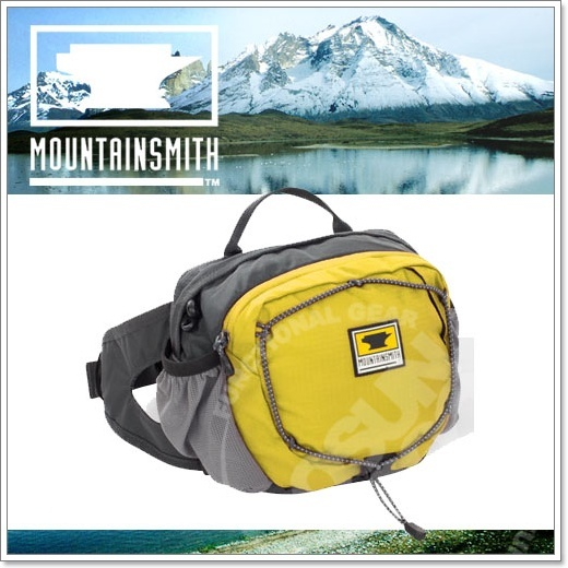 【美國 MountainSmith】新款 KINETIC TLS 3.7L 輕量化多功能腰包.運動臀包.肩背.斜背.側背.可當手拿包.MP3音源孔/黃