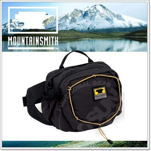 【美國 MountainSmith】新款 KINETIC TLS 3.7L 輕量化多功能腰包.運動臀包.肩背.斜背.側背.可當手拿包.MP3音源孔/黑