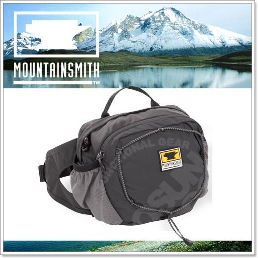【美國 MountainSmith】新款 KINETIC TLS 3.7L 輕量化多功能腰包.運動臀包.肩背.斜背.側背.可當手拿包.MP3音源孔/灰