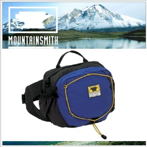 【美國 MountainSmith】新款 KINETIC TLS 3.7L 輕量化多功能腰包.運動臀包.肩背.斜背.側背.可當手拿包.MP3音源孔/寶藍