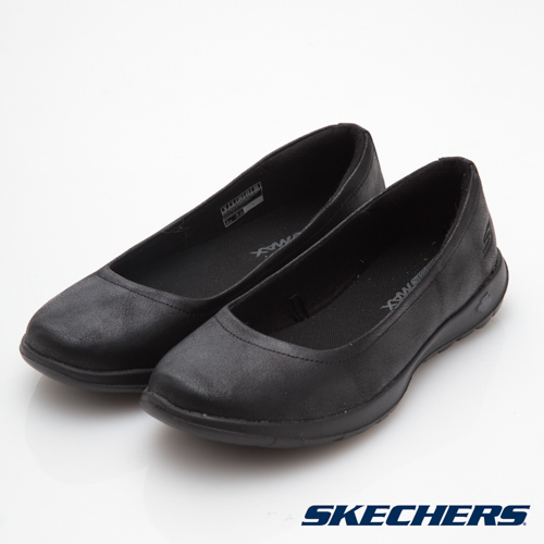 SKECHERS (女) 健走系列 GO WALK LITE - 15395BBK