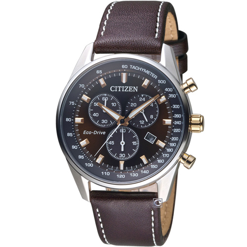 CITIZEN 星辰嶄新革命光動能腕錶  AT2396-19X