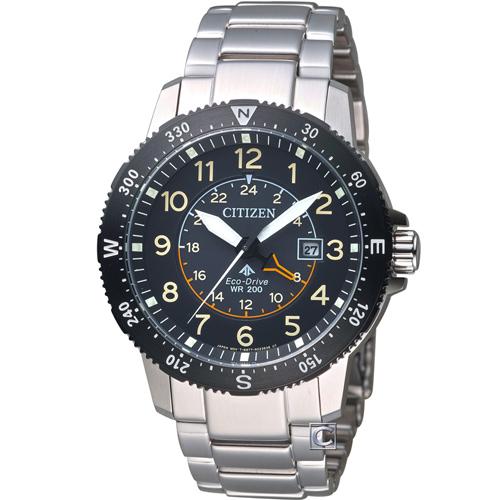 CITIZEN 星辰 PROMASTER 前瞻領向光動能腕錶 BJ7094-59E 黑