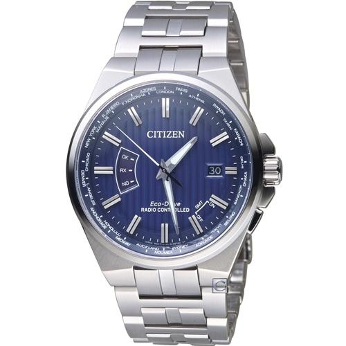 CITIZEN星辰 非凡品味光動能電波腕錶 CB0160-51L
