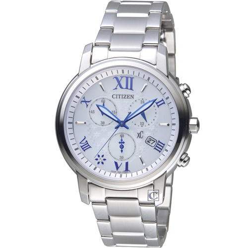 星辰 CITIZENxC 系列花漾系時尚光動能腕錶 FB1430-69A