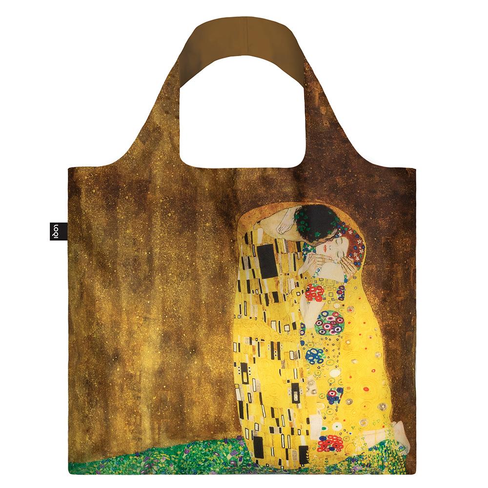 LOQI 購物袋-博物館系列 (克林姆 - 吻 GKKI)
