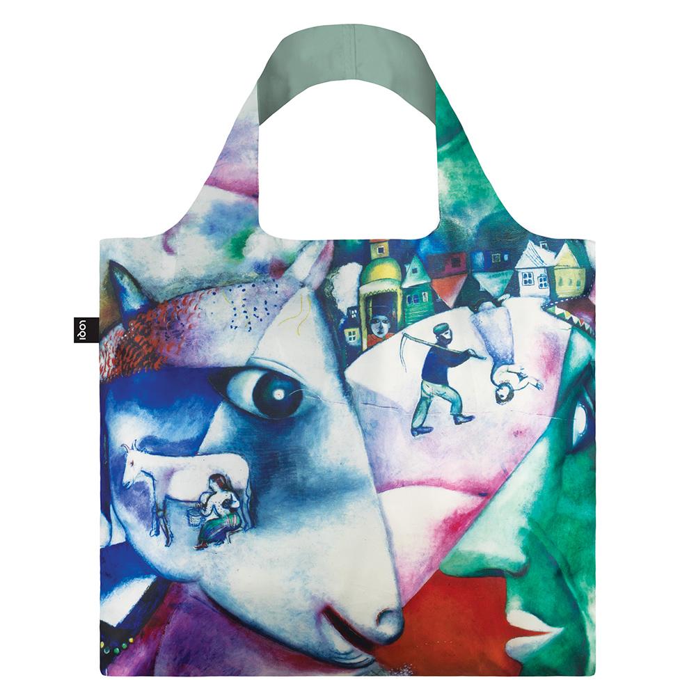 LOQI 購物袋-博物館系列 (我和村莊 MCMV)