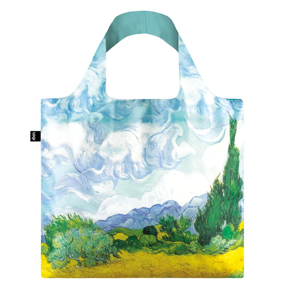LOQI 購物袋-博物館系列 (麥田・新 VGWHN)